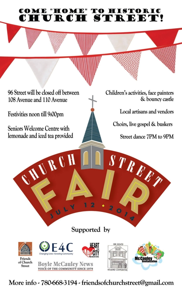 Church Street Fair Poster